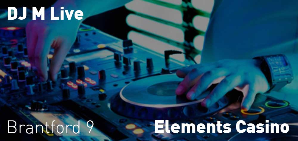 DJ M Live | Elements Casino | Saturday, December 22, 2018 | 9pm