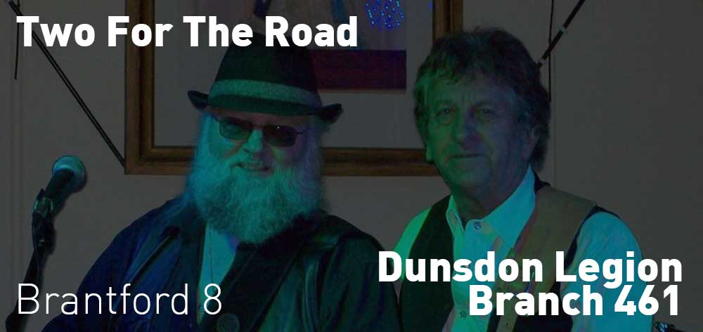 Two For The Road | Dunsdon Legion | Saturday, December 22, 2018 | 8pm