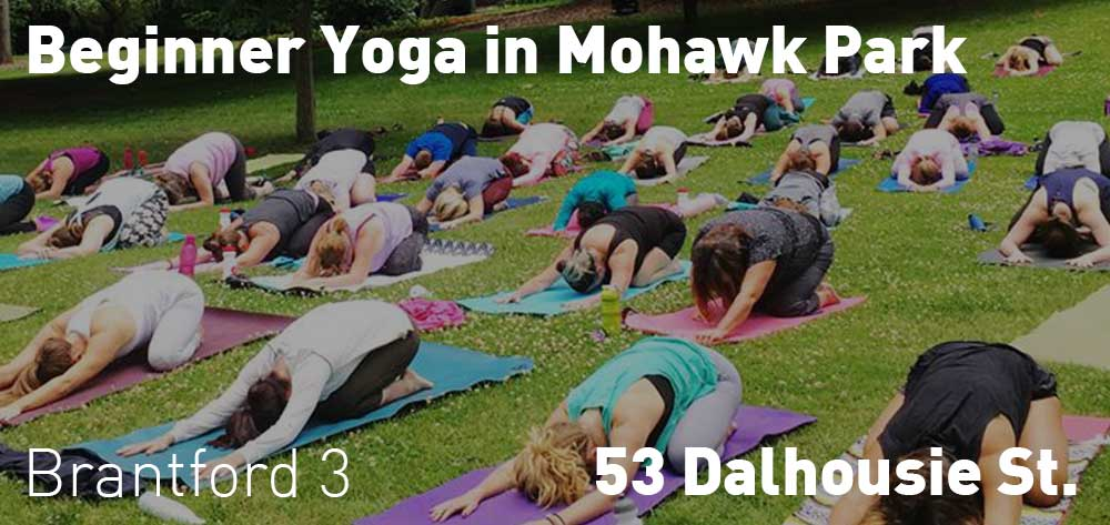 Beginner Yoga in Mohawk Park | Every Saturday till August 25, 2018 | 3pm each day