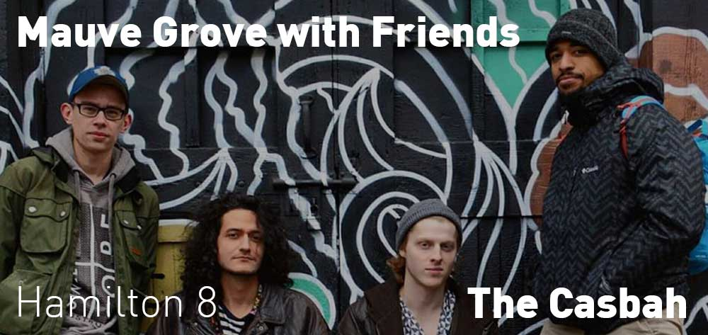 Mauve Grove | The Casbah | Thursday, August 23, 2018 | 8pm