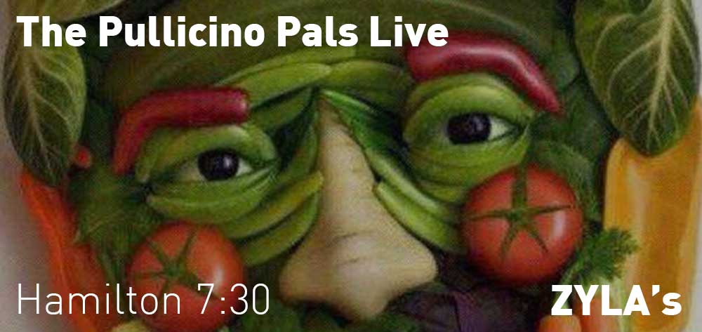 The Pullicino Pals | ZYLA's | Thursday, August 23, 2018 | 7:30pm