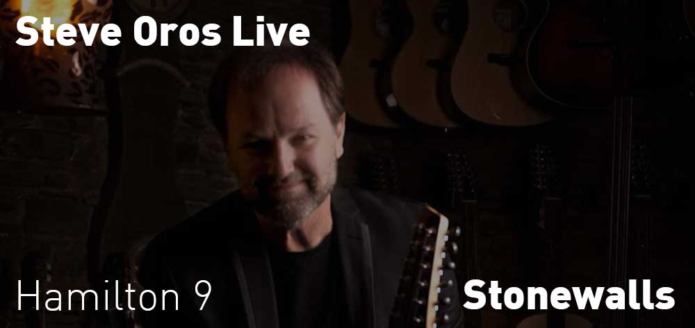 Steve Oros | Stonewalls | Friday, August 24, 2018 | 9pm