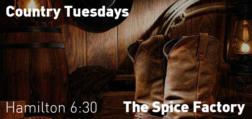 Country Tuesdays | The Spice Factory | 6:30pm