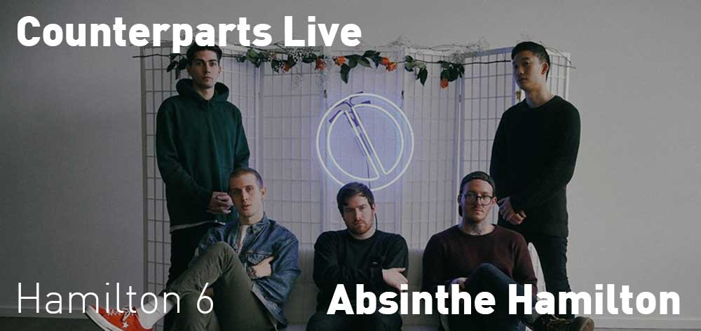 Counterparts | Absinthe Hamilton | Wednesday, December 19, 2018 | 6pm