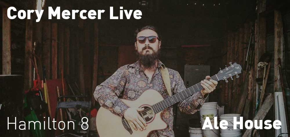 Cory Mercer | Ale House | Thursday, December 20, 2018 | 8pm