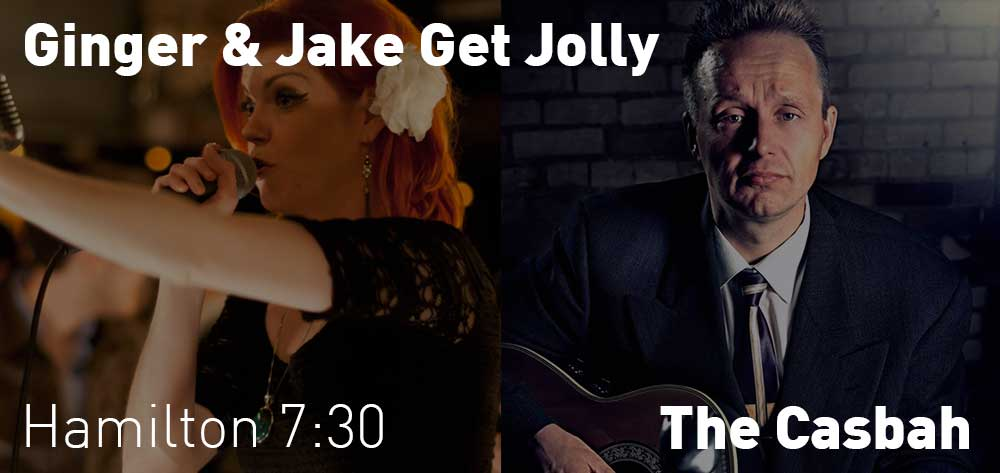 Ginger & Jake Get Jolly | The Casbah | Thursday, December 20, 2018 | 7:30pm