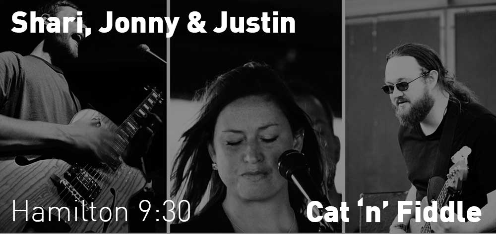 Shari + Jonny + Justin | Cat 'n' Fiddle | Thursday, December 20, 2018 | 9:30pm
