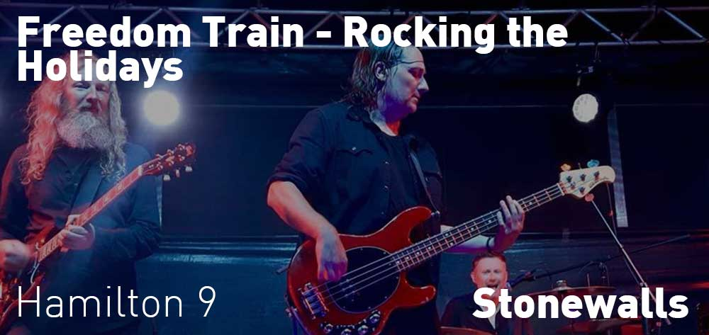 Freedom Train - Rocking the Holidays | Stonewalls | Friday, December 21, 2018 | 9pm