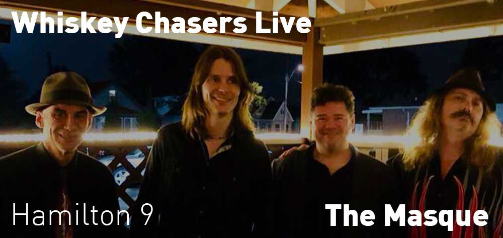 Whiskey Chasers at The Masque | Friday, December 21, 2018 | 9pm