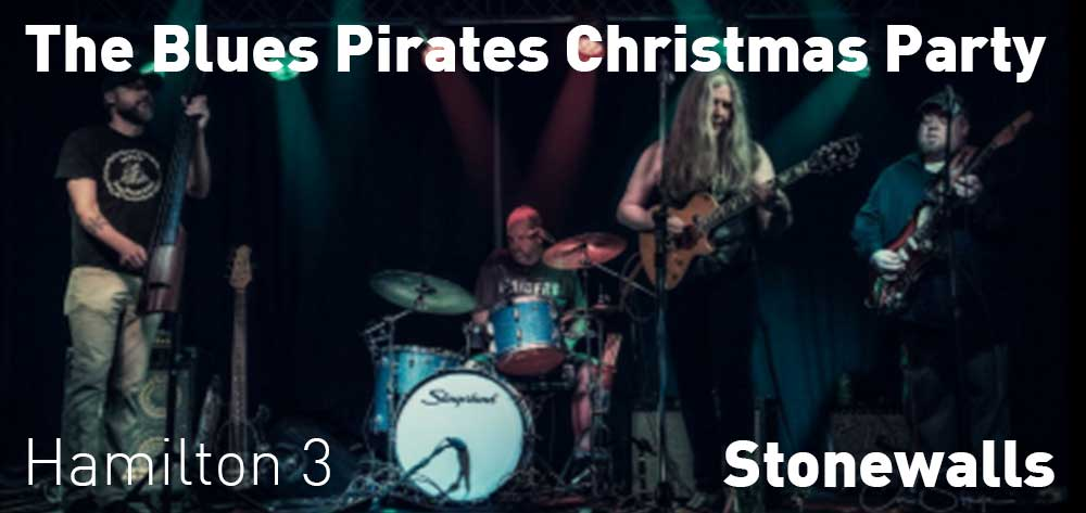 The Blues Pirates Christmas Party | Stonewalls Restaurant | Sunday, December 23, 2018 | 3pm