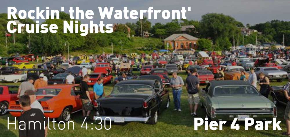 Rockin' the Waterfront' cruise nights at Pier 4 Park | Every Wednesday at 4:30pm till August 29
