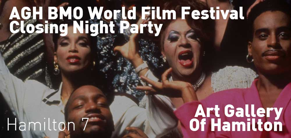 AGH BMO World Film Festival Closing Night Party | Art Gallery of Hamilton | Saturday, October 20, 2018 | 7pm