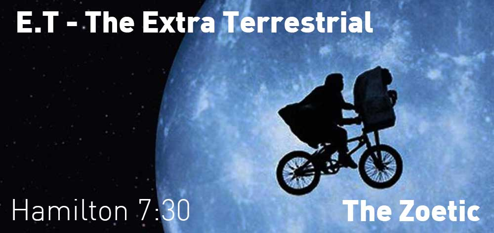 E.T. THE EXTRA-TERRESTRIAL | The Zoetic | Saturday, October 20, 2018 | 7:30pm