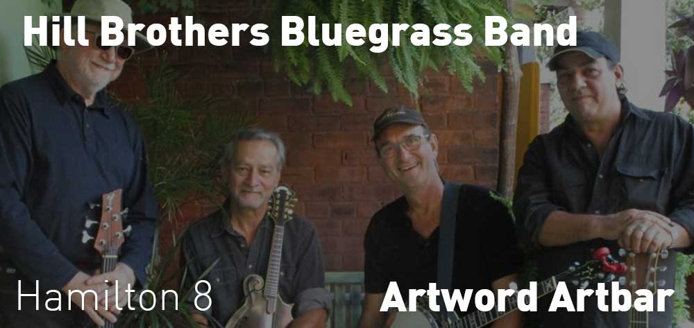 Hill Brothers Bluegrass Band | Artword Artbar | Saturday, October 20, 2018 | 8pm