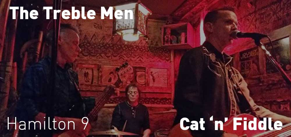 The Treble Men | Cat 'n' Fiddle | Saturday, October 20, 2018 | 9pm