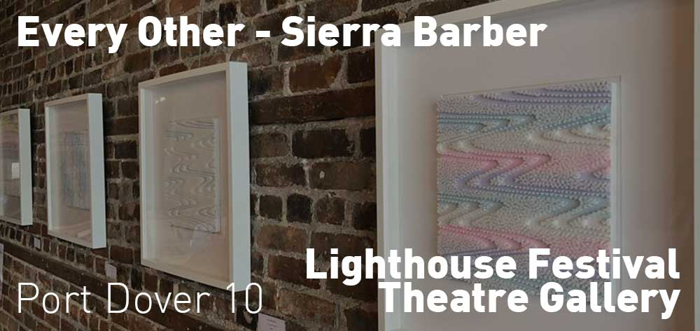 Every Other - Sierra Barber | Lighthouse Theatre Festival Gallery | August 13 - September 15, 2018 | Opening Reception: Sunday, August 26, 2018 @ 2pm