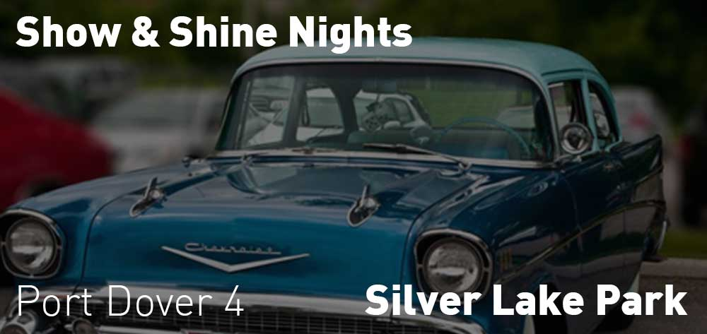 Show and Shine Nights Every Monday | Silver Lake Park | 4pm