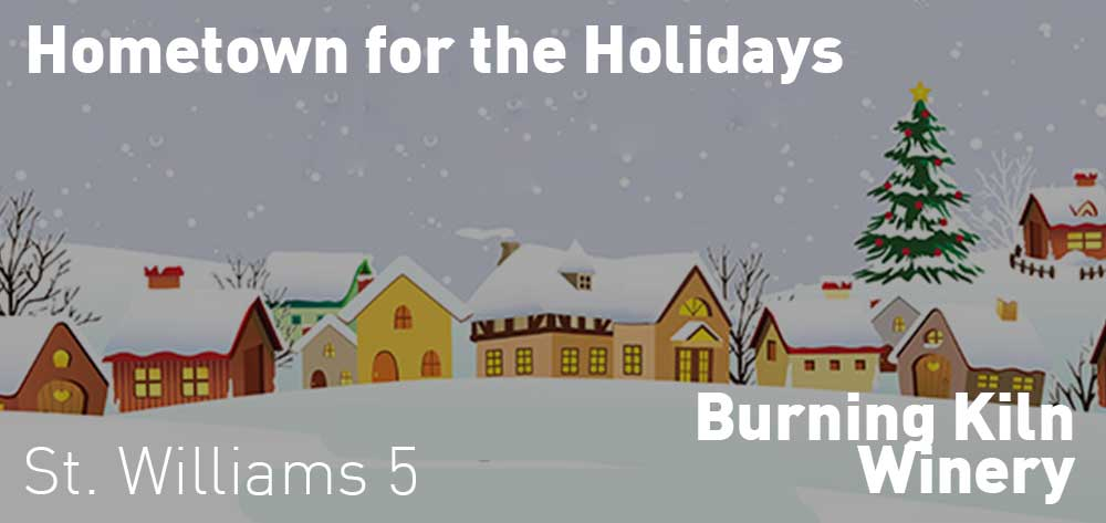 Hometown for the Holidays | Burning Kiln Winery | November 30 & December 1, 2018 | 5pm and 11am respectively