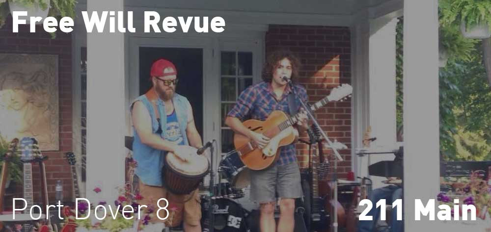 Free Will Revue | 211 Main | Saturday, October 20, 2018 | 8pm