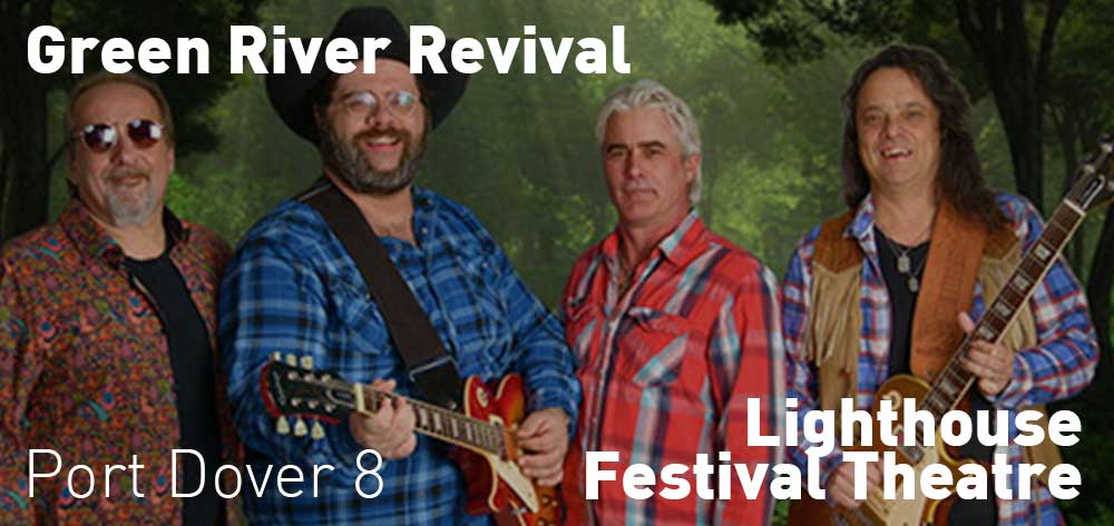 Green River Revival | Lighthouse Festival Theatre | Saturday, October 20, 2018 | 8pm
