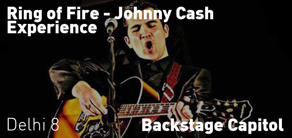 Ring of Fire - Johnny Cash Experience | Backstage Capitol | Saturday, October 20, 2018 | 8pm