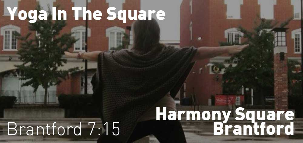 Yoga In The Square Every Tuesday | Harmony Square | July 2 - August 27, 2019