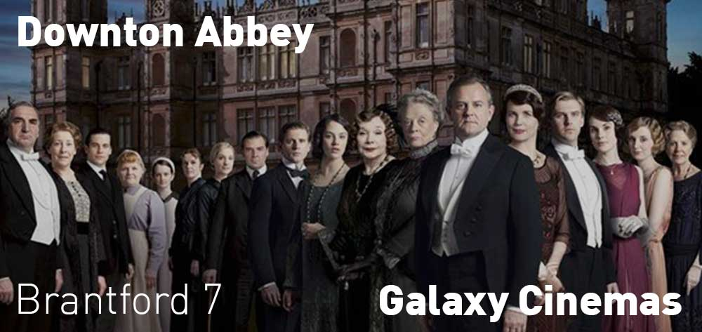 Downton Abbey showing at the Galaxy Cinema Brantford until Tuesday, September 24, 2019