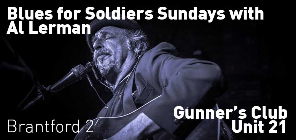 Blues for Soldiers Sundays with Al Lerman | Gunner's Club Unit 21 | Sunday, October 20, 2019 | 2pm
