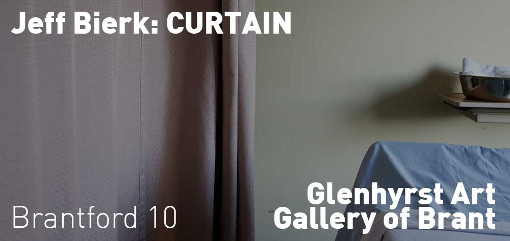 Jeff Bierk: CURTAIN | Glenhyrst Art Gallery of Brant | January 12 - March 10, 2019 | Opening Reception: Thursday, January 17, 2019 @ 7pm