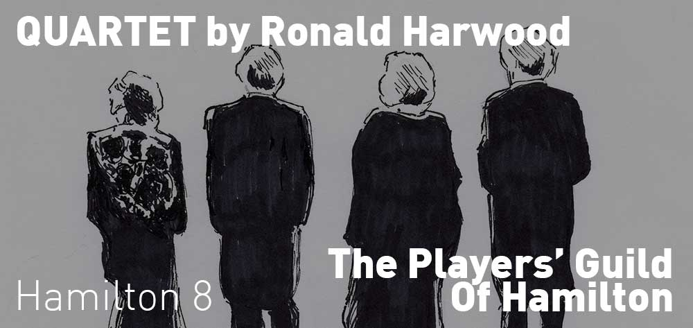 Quartet by Ronald Harwood | The Players' Guild Hamilton | April 5 - 20, 2019