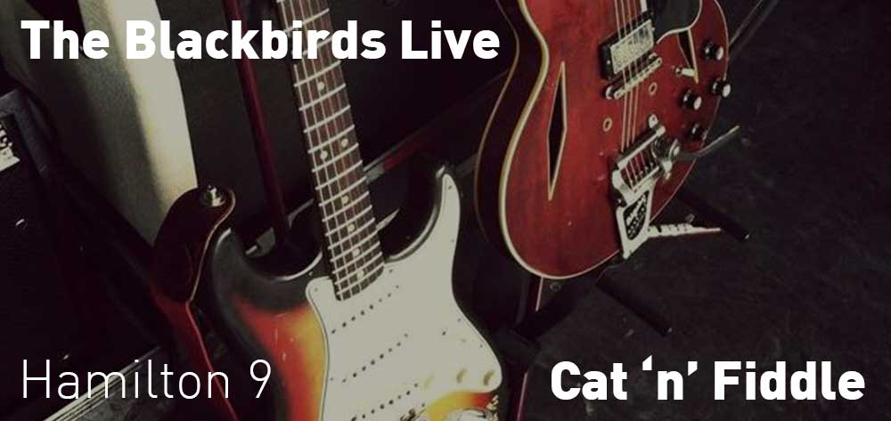 The Blackbirds | Cat 'n' Fiddle | Saturday, July 20, 2019 | 9pm