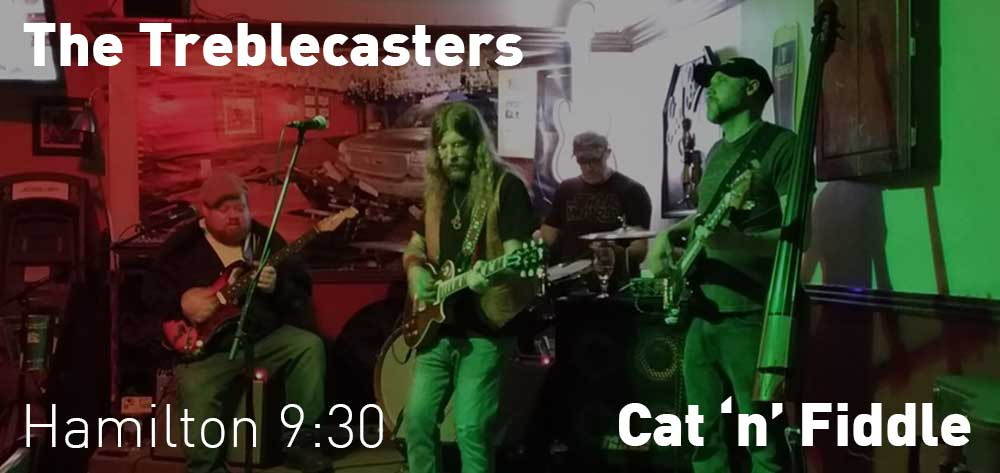 The Treblecasters | Cat 'n' Fiddle | Every Tuesday at 9:30pm