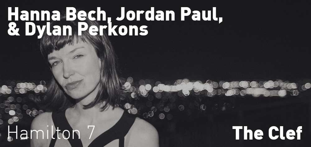 Hanna Bech, Jordan Paul, & Dylan Perkons | The Clef | Wednesday, October 23, 2019 | 7pm