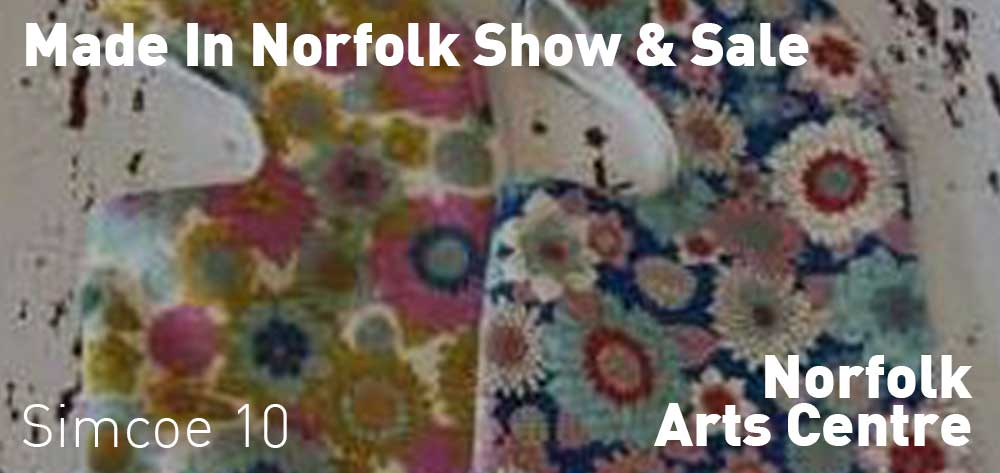 Made In Norfolk Show & Sale | Norfolk Arts Centre | November 1 - November 30, 2019
