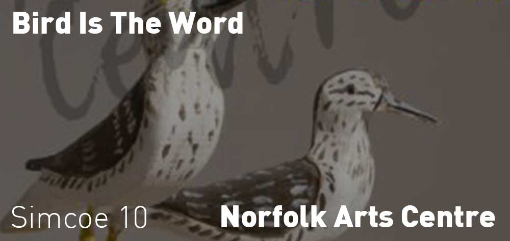 Bird is the Word - Art Exhibit Selections from the Permanent Collection | Norfolk Arts Centre | June 8 - September 28, 2019