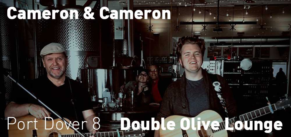 Cameron & Cameron | Double Olive Lounge | Saturday, July 20, 2019 | 8pm