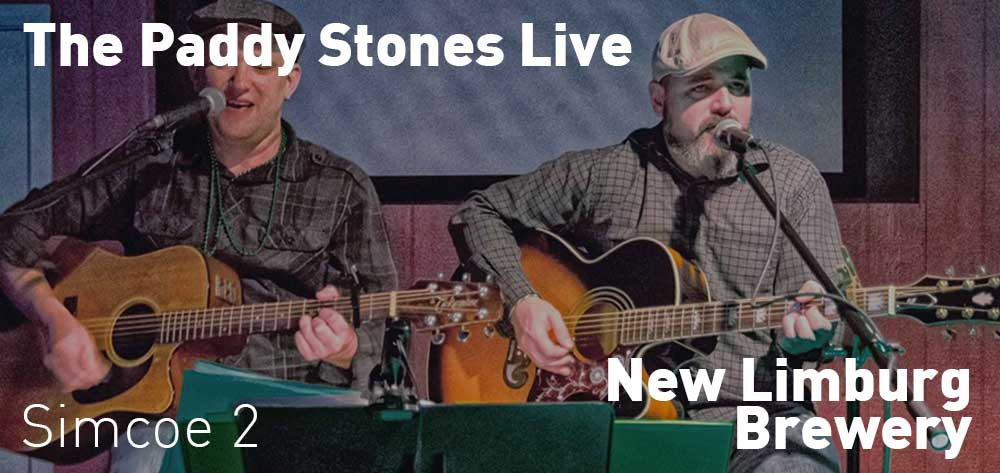 The Paddy Stones Live | New Limburg Brewery | Saturday, July 20, 2019 | 2pm