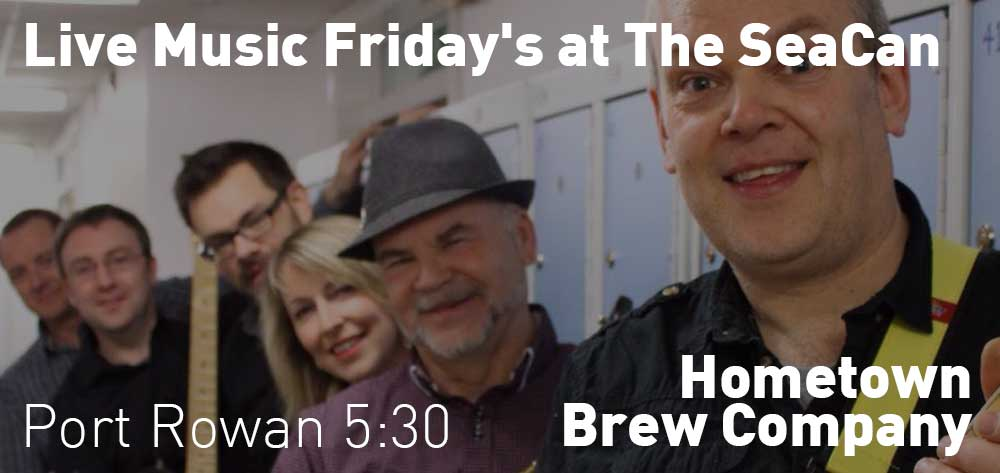 Live Music Fridays at The SeaCan | Hometown Brew Co. | 5:30pm