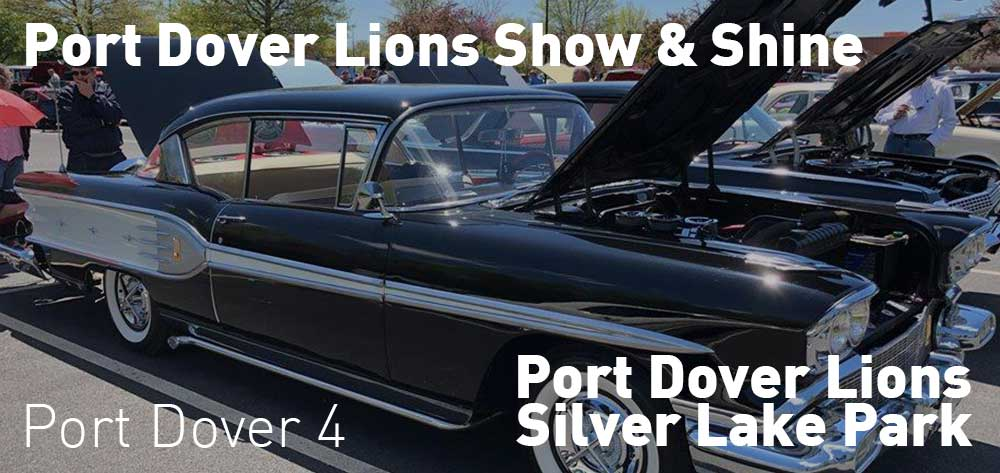 Port Dover Lions Show & Shine | Lions Silver Lake Park | May 27, 2019 - September 16, 2019