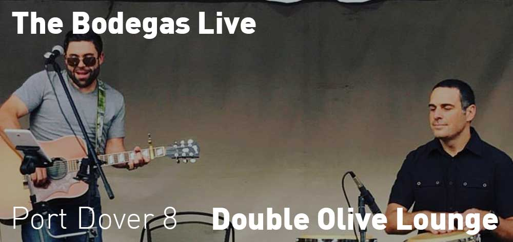 The Bodegas Live | Double Olive Lounge | Friday, September 20, 2019 | 8pm