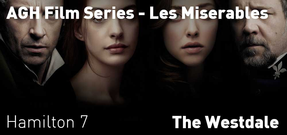 AGH Film Series - Les Miserables | The Westdale | Wednesday, February 26, 2020 | 7pm