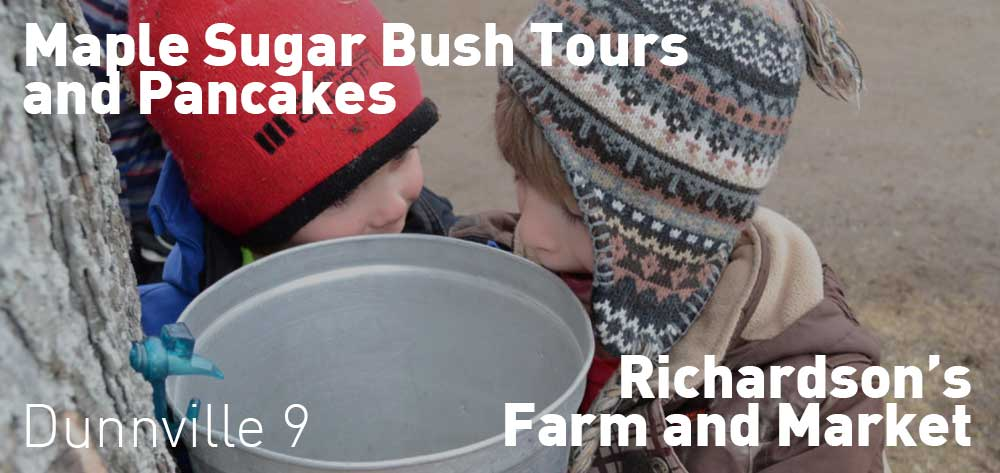 Sugar Bush Tours and Pancakes | Richardson's Farm and Market | Saturday, February 29, 2020 | 9am