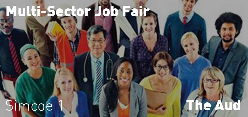Multi-Sector Job Fair | The Aud | Monday, March 2, 2020 | 1pm