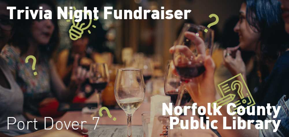 Trivia Night Fundraiser | Norfolk County Public Library | Saturday, February 29, 2020 | 7pm