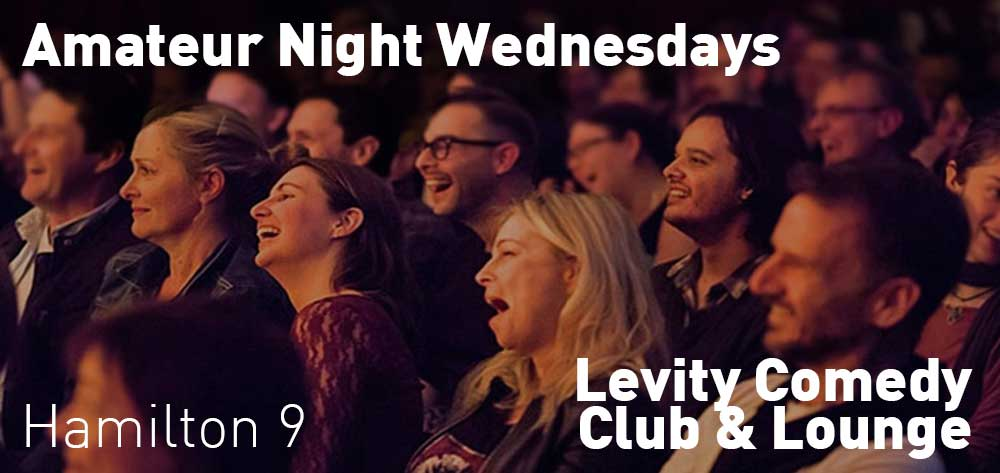 Amateur Night | Wednesdays | Levity Comedy Club & Lounge