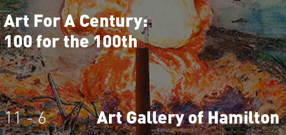 Hamilton Art Gallery - 100 for 100 years.