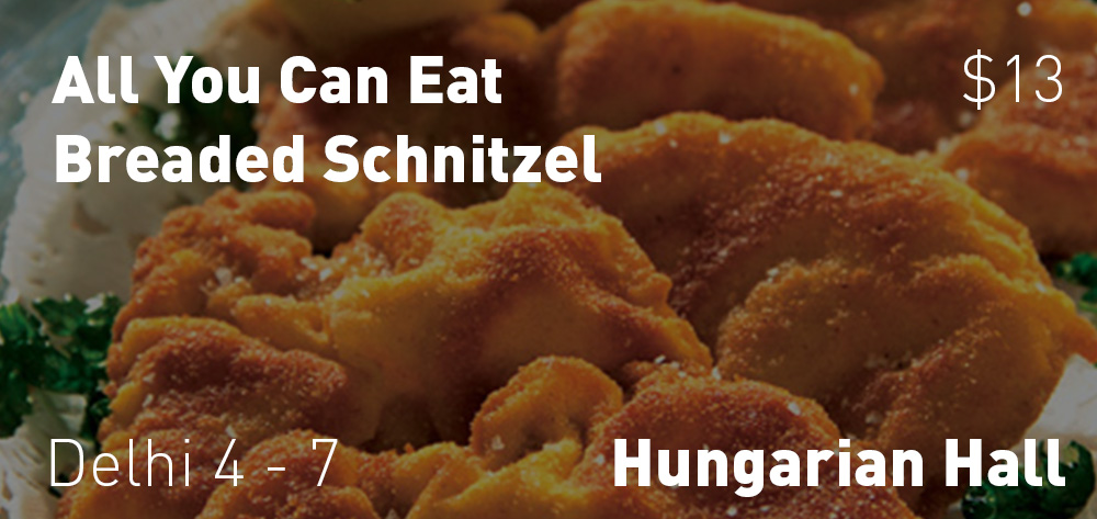 All You Can Eat Schnitzel