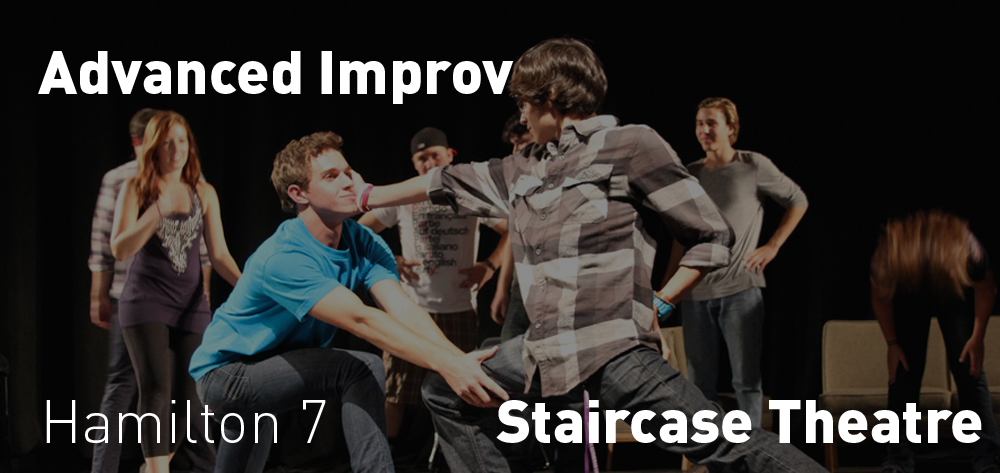 The Staircase Theatre has Advanced Improv every Tuesday at 7 PM!