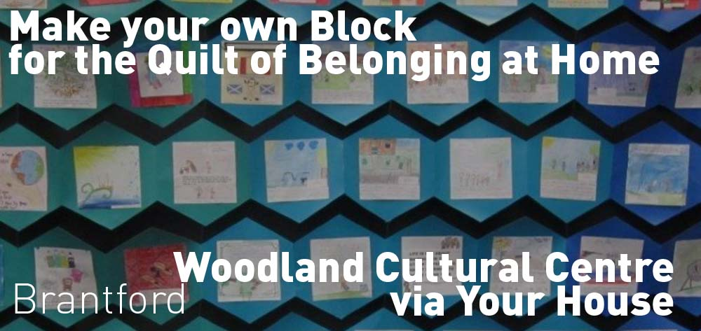 Make Your Own Square for The Quilt of Belonging at Home!