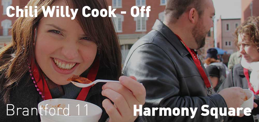 Chili Willy Cook-Off | Harmony Square | Sunday, February 25, 2018 | 11am